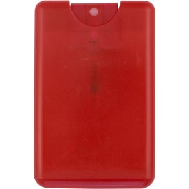 Credit Card Shape Hand Sanitizer Spray (20 mL, Pad Print)