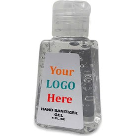 Hand Sanitizer with Custom Label (1 Oz.)