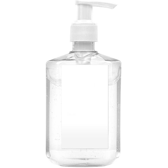 Clear Custom Label Gel Hand Sanitizer Pump Bottle