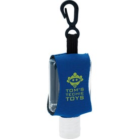 Custom Label Hand Sanitizer with Leash (0.5 Oz.)