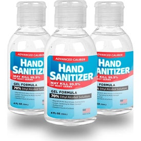 Gel Hand Sanitizer Flip-Cap Bottle (4 Oz.)