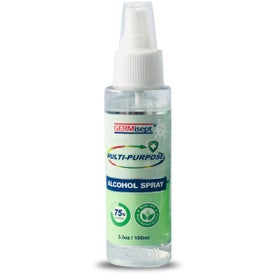 Germisept Multi-Purpose Alcohol Spray and Hand Sanitizer (3.3 Oz.)