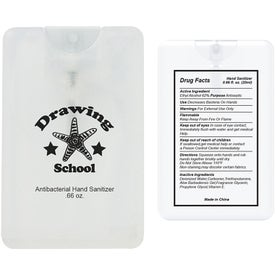 Hand Sanitizer Card (20 mL)
