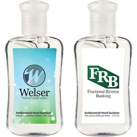 Hand Sanitizer Fashion Bottle (3 Oz.)