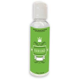Hand Sanitizer Gel Bottle (2 Oz.)