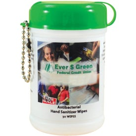 Advertising Hand Sanitizer Mini Wipe Canister