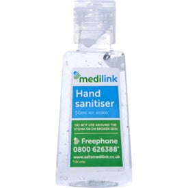 Hand Sanitizer with Alcohol (1 Oz.)