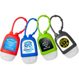 Hand Sanitizer with Silicone Strap (1 Oz.)