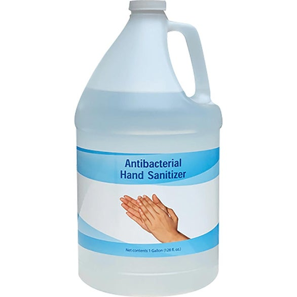 Clear Liquid Hand Sanitizer Refill