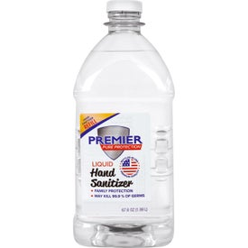 Premier Pure Hand Sanitizer Liquid Refills (64 Oz.)