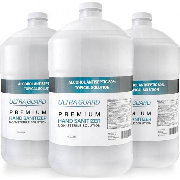 Clear Premium Liquid Hand Sanitizer Refill
