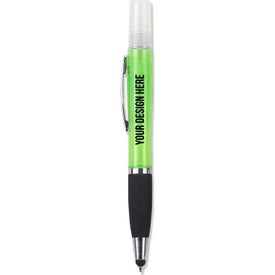 Refillable Hand Sanitizer Stylus Pens