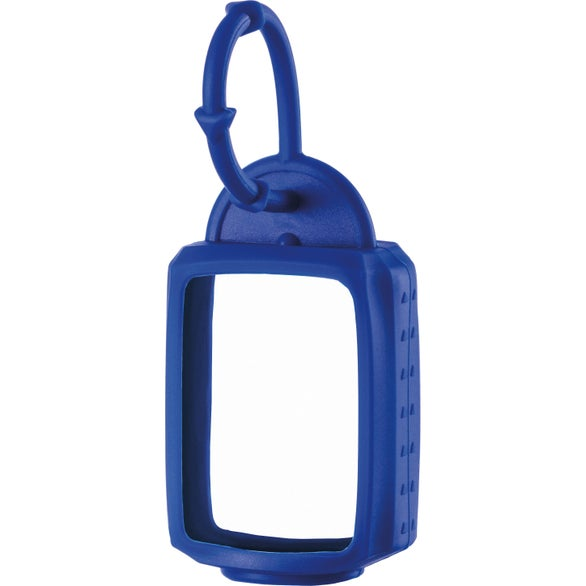 Blue Scented Hand Sanitizer with Silicone Leash