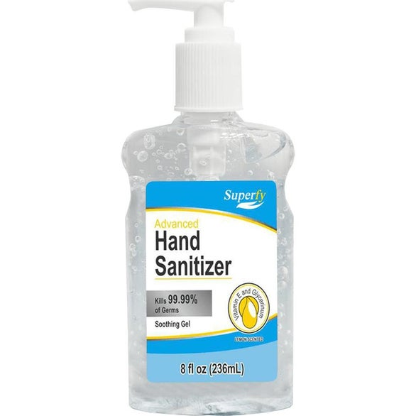 Clear Top Pump Hand Sanitizer
