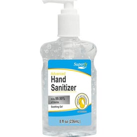 Top Pump Hand Sanitizers (8 Oz.)