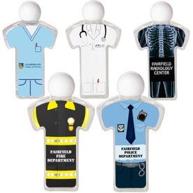 Uniform Hand Sanitizer for Advertising