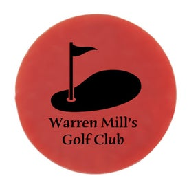 "15/16"" Ball Marker Branded with Your Logo"