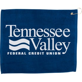 "Promotional 15"" x 18"" Hemmed Color Towel"