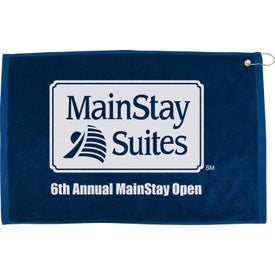 "16"" x 25"" Hemmed Color Towel for Marketing"