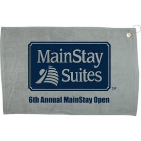 "Promotional 16"" x 25"" Hemmed Color Towel"