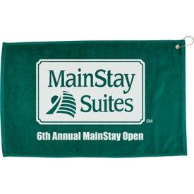 "Company 16"" x 25"" Hemmed Color Towel"
