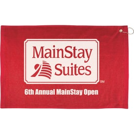 """16"""" x 25"""" Hemmed Color Towel for your School"""