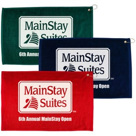 "Branded 16"" x 25"" Hemmed Color Towel"