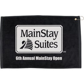 "Advertising 16"" x 25"" Hemmed Color Towel"