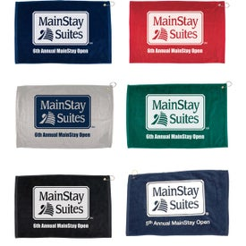 "Hemmed Golf Towels (25"" x 16"")"
