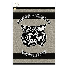 "16"" x 22"" Custom Woven Golf Towel Giveaways"