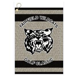 "16"" x 22"" Custom Woven Golf Towel Giveaways"