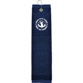"""16"""" x 22"""" Woven Embroidered Towel for Promotion"""