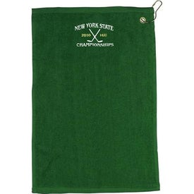 "18"" Embroidered Golf Towel"