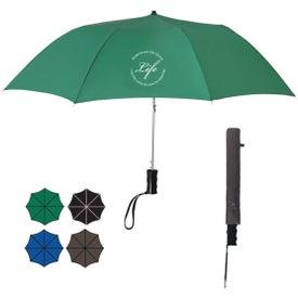 "36"" Arc Telescopic Folding Automatic Umbrella"