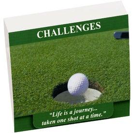 """Imprinted 4-1 Golf Tee Packet - 2-1/8"""" Tee"""