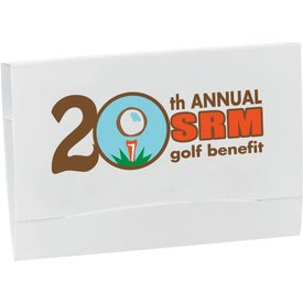 4-2-1 Golf Tee Packet for Promotion