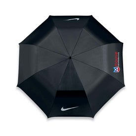 """42"""" Arc Nike Double Canopy Collapsible Umbrella"""