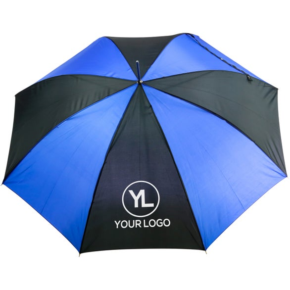 Royal Blue / Black Golf Umbrella