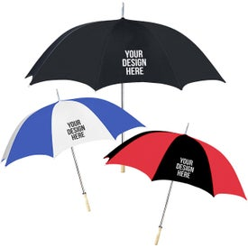 "48"" Arc Golf Umbrella for Your Organization"