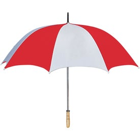 "60"" Arc Golf Umbrella Imprinted with Your Logo"