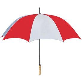 "60"" Arc Golf Umbrella Imprinted with Your Logo"