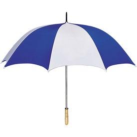 "Imprinted 60"" Arc Golf Umbrella"