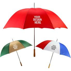 "Custom 60"" Arc Golf Umbrella"
