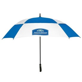 """60"""" Arc Square Golf Umbrella Branded with Your Logo"""