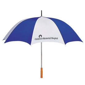 """60"""" Arc Two Tone Golf Umbrella for Promotion"""
