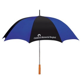"60"" Arc Two Tone Golf Umbrella for Advertising"