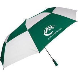 "Advertising 60"" Folding Auto Open Windbuster Umbrella"