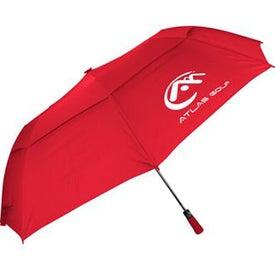 "Monogrammed 60"" Folding Auto Open Windbuster Umbrella"