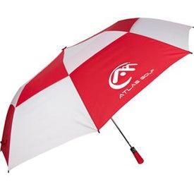"60"" Folding Auto Open Windbuster Umbrella for Advertising"