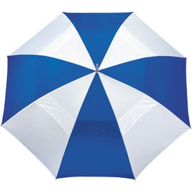 """60"""" Vented Golf Umbrella with Your Slogan"""